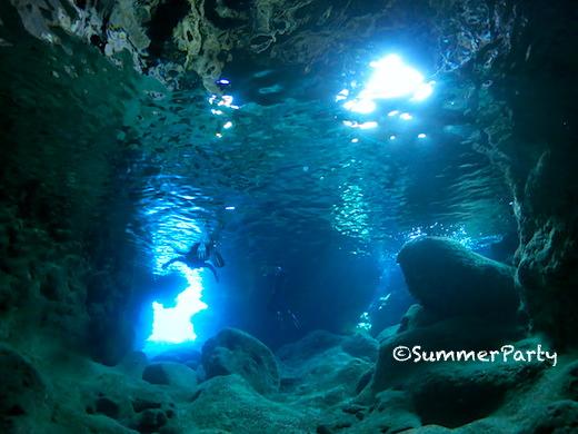 宮古島青の洞窟
