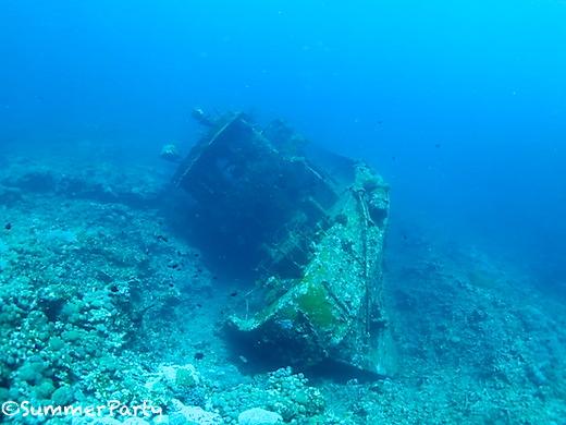 ヤビジ 沈船タグボート
