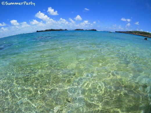 宮古島南海岸 シギラビーチ