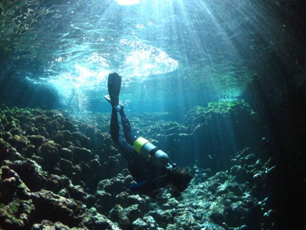 ダイバー潜降