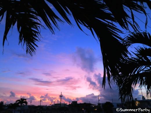 宮古島 今日の夕景