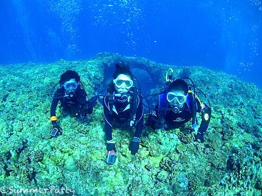 宮古島で体験ダイビング