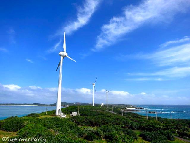 西平安名崎 風力発電