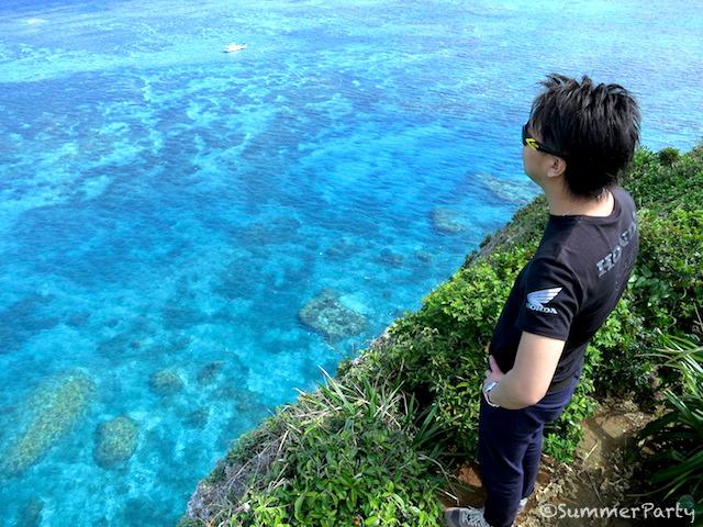 伊良部島から見る景色