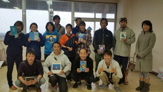 横井謙典さんとセミナー参加者で集合写真