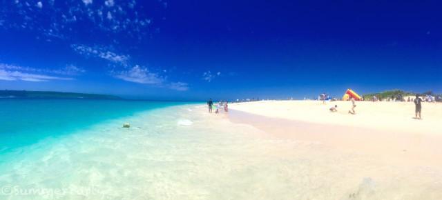 日本一のビーチ前浜