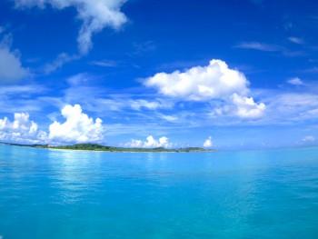 透明度の高い宮古島の海