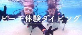 宮古島でビーチ体験ダイビング